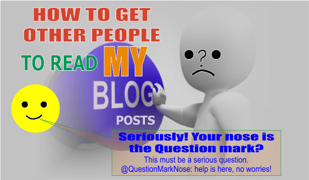 How to Get Other People to Read Your Blog Posts
